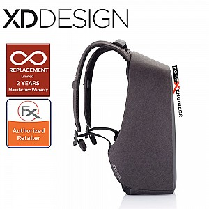 """XD Design Bobby Hero Small Anti-Theft Backpack , Fits 13.3"""" Laptop - Black Color"""