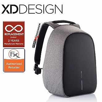 "XD Design Bobby Hero REGULAR Anti-Theft Backpack , Fits 15.6"" Laptop - Grey color"