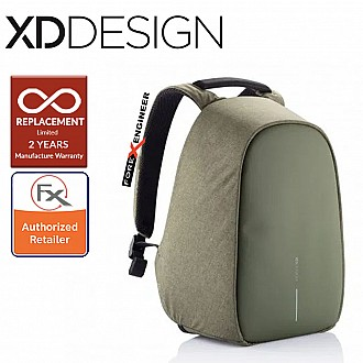 "XD Design Bobby Hero REGULAR Anti-Theft Backpack , Fits 15.6"" Laptop Green Color"