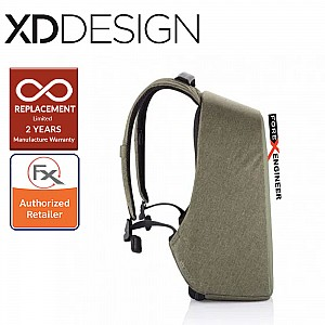 "XD Design Bobby Hero Small Anti-Theft Backpack , Fits 13.3"" Laptop - Green Color"