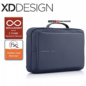 XD Design Bobby Bizz Anti-Theft Backpack & Briefcase - Navy Color