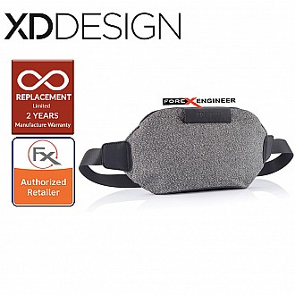 [PRE-ORDER] XD Design Urban Bumbag Anti-Theft & Cutproof Waist Pouch Bag - Grey Color [ETA: 2 MAY 2021]