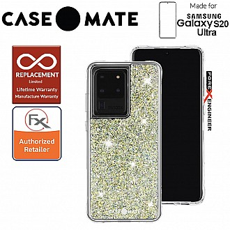 "Case-Mate Case Mate Twinkle for Samsung Galaxy S20 Ultra 6.9"" - Stardust Color"
