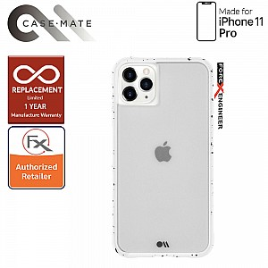Case-Mate Tough Speckled for iPhone 11 Pro White color
