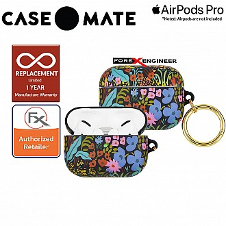 Case Mate Rifle Paper for Airpods Pro - Meadow with Gold Circular Ring ( Barcode : 846127191128 )