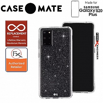 "Case-Mate Case Mate Sheer Crystal for Samsung Galaxy S20+ / S20 Plus 6.7"" - Clear Color"