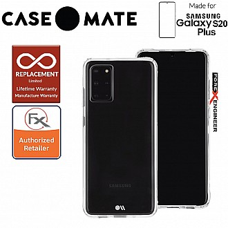 "Case-Mate Case Mate Tough for Samsung Galaxy S20+ / S20 Plus 6.7"" - Clear Color"