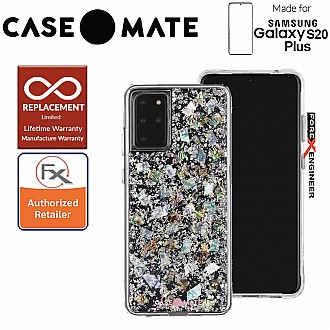 "Case-Mate Case Mate  Karat for Samsung Galaxy S20+ / S20 Plus 6.7"" - Pearl Color"