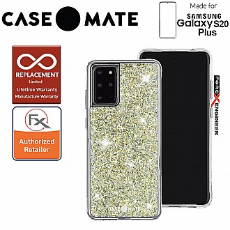 "Case-Mate Case Mate  Twinkle for Samsung Galaxy S20+ / S20 Plus 6.7"" - Stardust Color"
