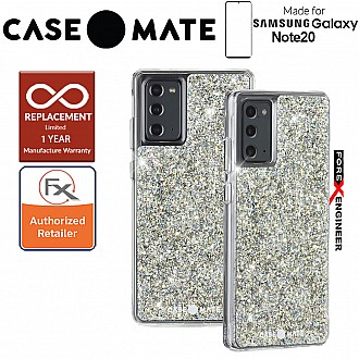 Case Mate Twinkle for Samsung Galaxy Note 20 5G 2020 - with Micropel antimicrobial protection - Stardust Color ( Barcode : 846127195225 )