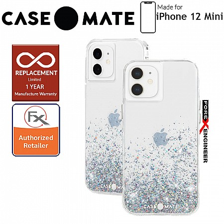 """Case Mate Twinkle Ombré for iPhone 12 Mini 5G 5.4"""" - Multi with MicroPel (Barcode: 846127197090)"""