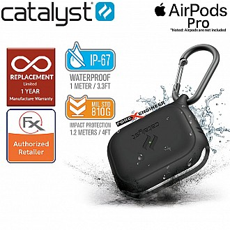 Catalyst Waterproof Case for AirPods Pro - Stealth Black Color