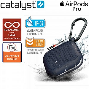 Catalyst Waterproof Case for AirPods Pro Premium Edition - Midnight Blue  Color