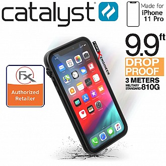 Catalyst Impact Protection Case for iPhone 11 Pro (Stealth Black)