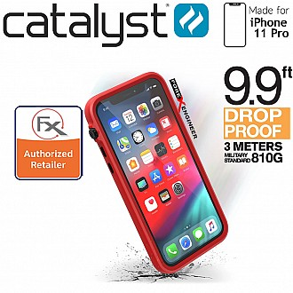 Catalyst Impact Protection Case for iPhone 11 Pro (Black/Red)