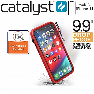 Catalyst Impact Protection Case for iPhone 11 (Black/Red)