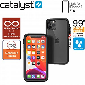 Catalyst Waterproof Case for iPhone 11 Pro - Stealth Black color