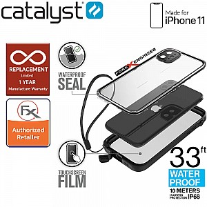Catalyst Waterproof Case for iPhone 11 - Stealth Black Color