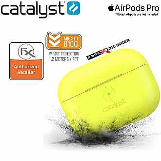 Catalyst SLIM Case for Airpods Pro - Neon Yellow Color