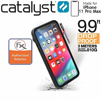 Catalyst Impact Protection Case for iPhone 11 Pro Max (Stealth Black)