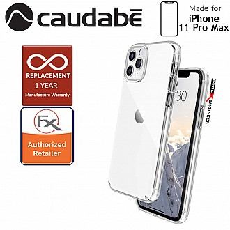 Caudabe Lucid Clear for iPhone 11 Pro Max  (Crystal Clear)