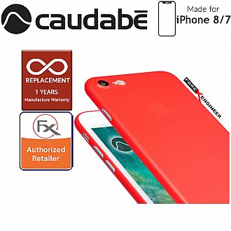 Caudabe the Veil XT for iphone 7 / 8 Premium Ultra Thin Case - Red