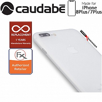Caudabe the Veil XT for iphone 7 / 8 PLUS Premium Ultra Thin Case - Frost