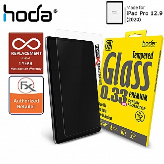 "Hoda Tempered Glass Screen Protector for iPad Pro 12.9 inch / 12.9"" ( 2020 ) 4th Gen - Compatible with iPad Pro 12.9 ( 2018 ) 3rd Gen ( Barcode: 4713381512838 )"