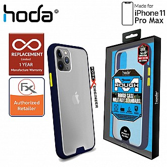 HODA ROUGH Military Case for iPhone 11 Pro Max - Military Drop Protection - Dark Blue Color ( Barcode: 4713381514849 )