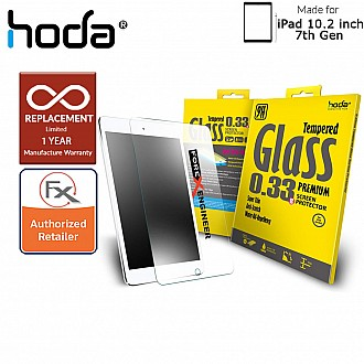"Hoda Tempered Glass Screen Protector for iPad 10.2 inch / 10.2"" 7TH GEN 2019 - 0.33mm Full Coverage Screen Protector ( Barcode: 4713381515037 )"