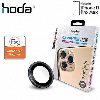 Hoda Sapphire Lens Protector for iPhone 11 Pro Max - 3 pcs - Space Gray Color