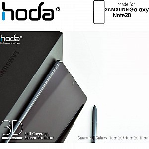 Hoda Screen Protector for Samsung Galaxy Note 20 - 3D Full UV Glue Tempered Glass ( Light INCLUDED) ( Barcode: 4713381517970+4713381516256 )