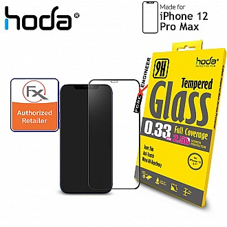 "Hoda Tempered Glass for iPhone 12 Pro Max (6.7"") - 2.5D 0.33mm Full Coverage Screen Protector - Clear (Barcode : 4713381518342 )"