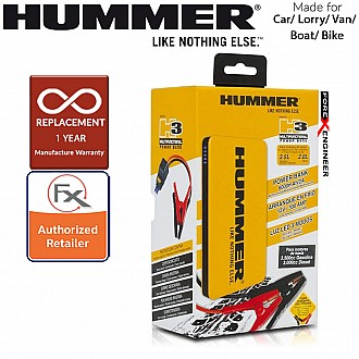 Hummer H3 6000 mAh Powerbank Jump Jumper Starter for Car , Lorry , Van , Boat & Bike