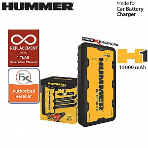 Hummer H1 Multifunctional + Powerbank Jump Starter 15000mah / 12V / 400A-800A for engine up to 7L Petrol and Diesel ( Barcode: 4897035892252 )