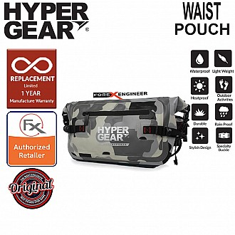 Hypergear Waist Pouch V2 Large - Camouflage Grey Alpha Color