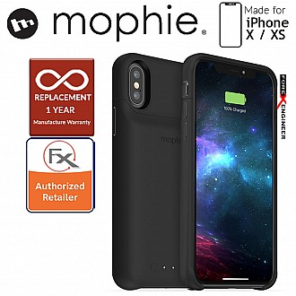 Mophie Juice Pack Access for iPhone X / Xs - Black (2,000mAH Build-in Battery Case)