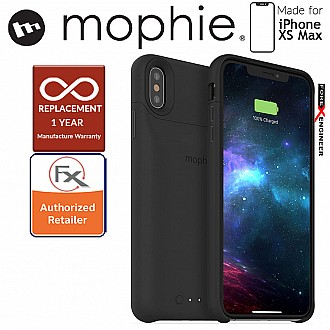 Mophie Juice Pack Access for iPhone Xs Max - Black (2,200mAH Build-in Battery Case)