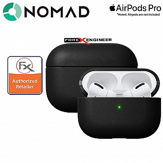 Nomad Active Rugged Case for Airpods Pro - Black Leather Color ( Barcode: 856500018553 )