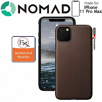 Nomad Rugged Case for iPhone 11 Pro Max (Rustic Brown)