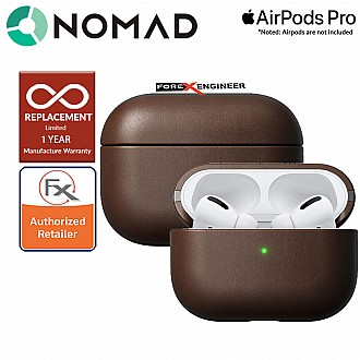 Nomad Rugged Case for Airpods Pro - Rustic Brown Leather Color ( Barcode: 856500018539 )