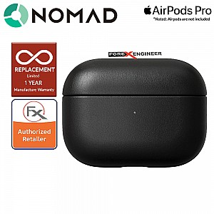 Nomad Rugged Case for Airpods Pro - Black Leather Color ( Barcode: 856500018546 )