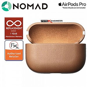 Nomad Rugged Case for Airpods Pro - Natural Leather Color ( Barcode: 856500018577 )