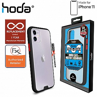 HODA ROUGH Military Case for iPhone 11 - Military Drop Protection ( Black ) ( Barcode: 4713381514849 )
