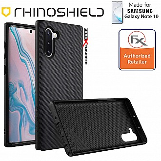 Rhinoshield SolidSuit for Samsung Galaxy Note 10 (Carbon/Black)