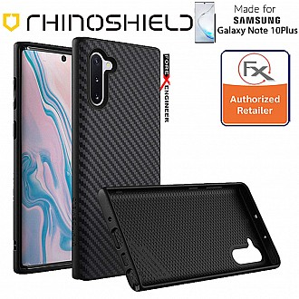 Rhinoshield SolidSuit for Samsung Galaxy Note 10+ / Note 10 Plus (Carbon/Black)