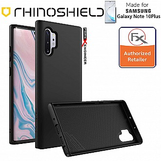 Rhinoshield SolidSuit for Samsung Galaxy Note 10+ / Note 10 Plus (Classic Black)