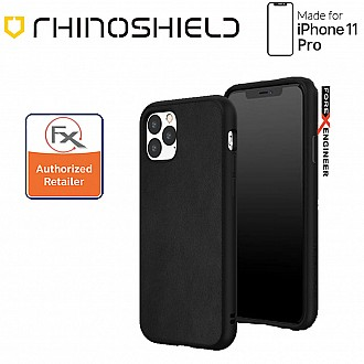 Rhinoshield SolidSuit for iPhone 11 Pro Leather Black