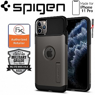 Spigen Slim Armor for iPhone 11 Pro (Gunmetal)
