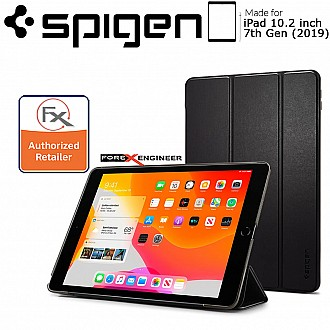"Spigen Smart Fold for iPad 10.2"" / iPad 10.2 inch 2019 - Black Color"